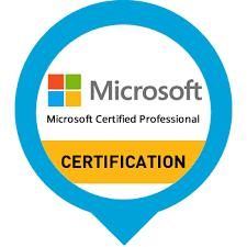 Microsoft certification logo